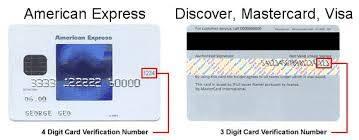 cod cvc card