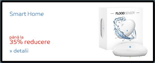 Dispozitive SMART pentru protectia locuintei.