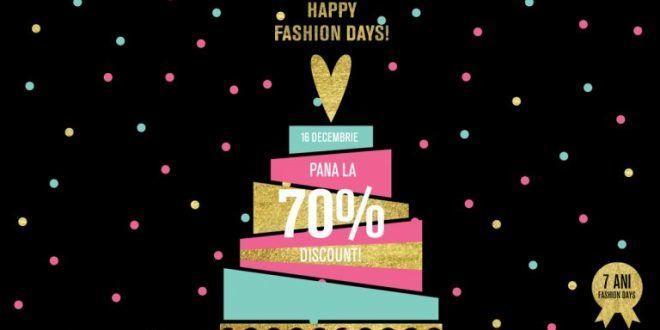 Reduceri haine fashion days 16 decembrie