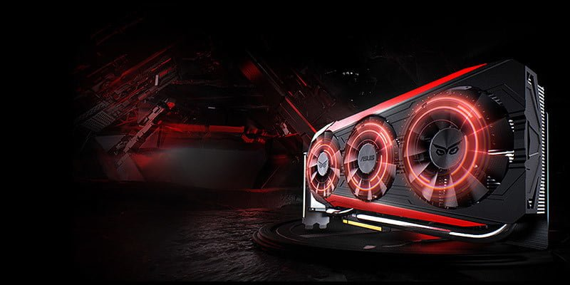 Placa video powered by asus