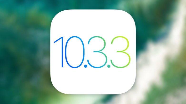 Update iOS 10.3.3 disponibil iulie