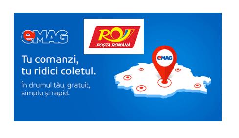 Livrare gratuita eMAG prin Posta Romana