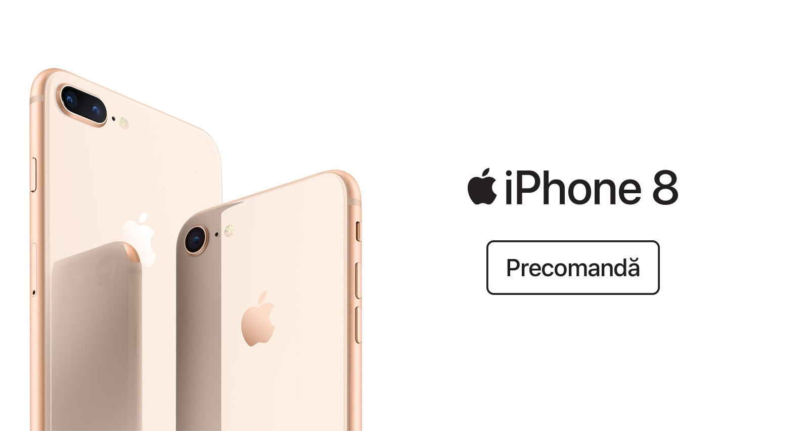 iPhone 8 si iPhone 8 plus precomanda eMAG
