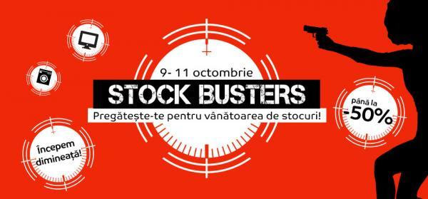 stock busters emag octombrie