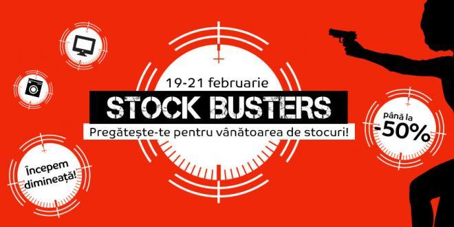 Reduceri eMAG Stock Busters februarie 2019