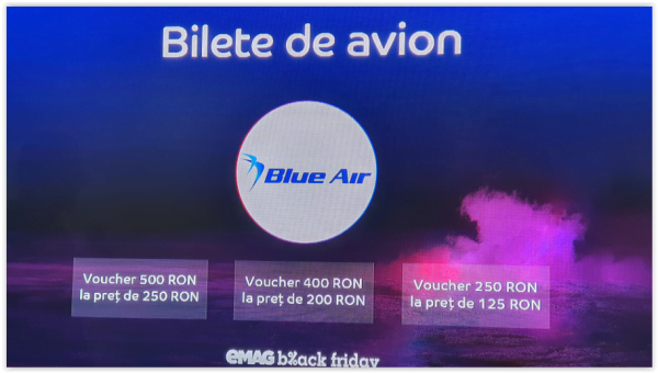 Bilete de avion cu pret redus