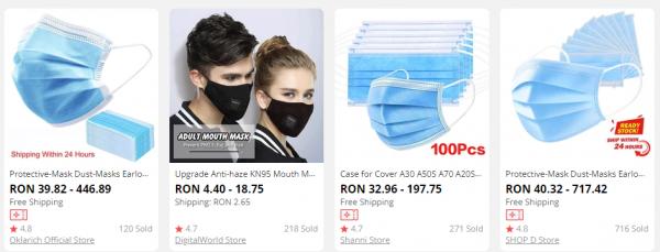 unde gasim masca protectie fata